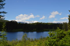 Szczyt jezioro Obraz Stock