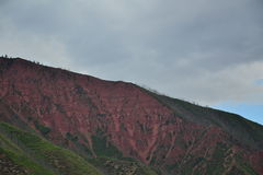 Szczyt Kolorado Na sposobie… Fotografia Royalty Free