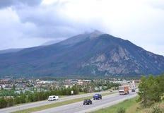 Szczyt Kolorado Na sposobie… Obrazy Stock