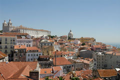 szczyt Lisboa Obraz Royalty Free