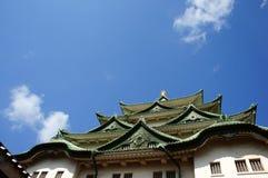 Szczyt Nagoya kasztel Obrazy Stock