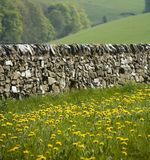 szczyt okręgowy derbyshire Anglii zdjęcie stock