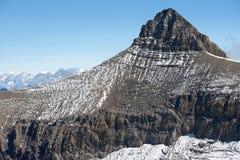 Szczyt Oldenhorn w Szwajcaria Obraz Royalty Free