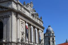 Szczyt opera Lille, Francja Obraz Royalty Free