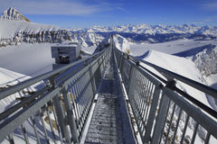 Szczyt Osiągać szczyt, Szwajcaria Obrazy Royalty Free