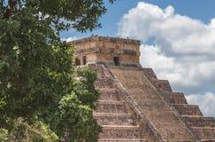 Szczyt przy El Castillo Zdjęcie Royalty Free
