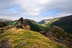 Szczyt steru Crag zdjęcie royalty free