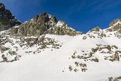 Szczyt w Slovakian Tatras Fotografia Royalty Free