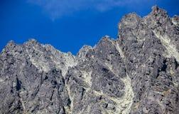 Szczyt w Wysokim Tatras, Sistani Fotografia Stock
