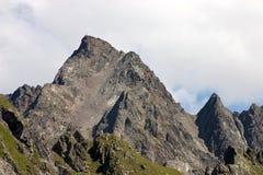 Szczyt Wildgrat (Nad Poziom Morza 2,971 m) Obrazy Stock