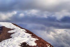 Szczyt wulkan. etna Zdjęcia Royalty Free