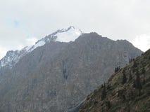 Szczyt z śniegiem Zdjęcie Royalty Free