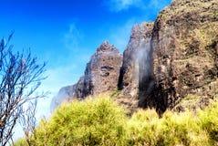 Szczytowe góry Tenerife, wyspy kanaryjska Fotografia Stock