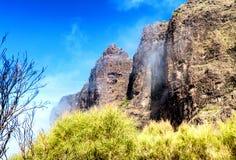 Szczytowe góry Tenerife, wyspy kanaryjska Zdjęcie Stock