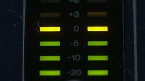 Szczytowi równi metry analogowa melanżer konsola zbiory wideo