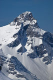 szczytowy śnieżny fotografia stock