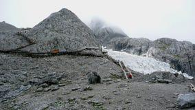 szczytowy śnieg Obraz Royalty Free