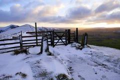 Szczytowy okręg, Derbyshire, UK Obraz Royalty Free