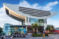 Szczytowy wierza w Hong Kong Zdjęcie Stock