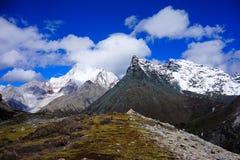 Szczytu górskiego widok Obraz Stock