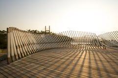 szczytu Hong kong punkt obserwacyjny ma parkowy blady Obraz Stock