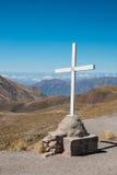 Szczytu krzyż Zdjęcie Stock