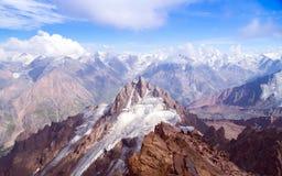 szczytu nakrywający śnieg Fotografia Royalty Free