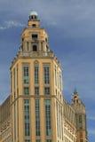 szczyty korali budynku. Obrazy Royalty Free
