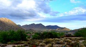 Szczyty Scottsdale Zdjęcie Royalty Free