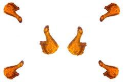 Sześć kurczaków ud Obraz Royalty Free