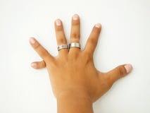 sześć palców Obraz Royalty Free