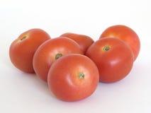 sześć pomidorów zdjęcia stock
