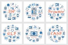 Sześć sztandarów - ISP, gawędzenie, wyszukiwarka ilustracji