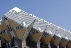 Sześcian mieści Rotterdam Obrazy Royalty Free
