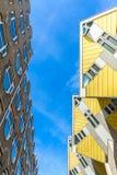 Sześcian mieści Rotterdam holandie Fotografia Royalty Free