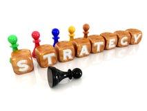 sześcian strategia ilustracji