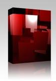 sześcianu abstrakcjonistyczny pudełkowaty pakunek Zdjęcie Royalty Free