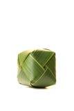 sześcianu kokosowy liść Zdjęcie Royalty Free