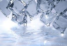 sześcianu lód ilustracja wektor