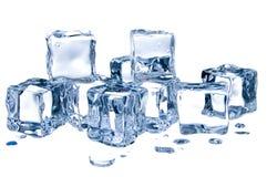 sześcianu lód obraz stock