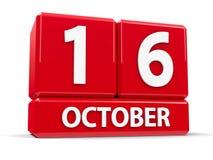 Sześciany 16th Październik Zdjęcia Royalty Free