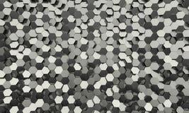 Sześciokąta geometryczny tło Obrazy Stock