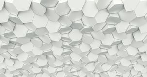 Sześciokąta geometryczny tło Fotografia Stock