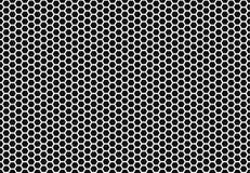 Sześciokąta honeycomb bezszwowy tło Prosty bezszwowy wzór pszczoły ` honeycomb komórki ilustracja wektor geometryczny Zdjęcia Stock