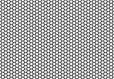 Sześciokąta honeycomb bezszwowy tło Prosty bezszwowy wzór pszczoły ` honeycomb komórki ilustracja wektor geometryczny Fotografia Royalty Free