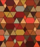 Sześciokąta out kreskowy brown bezszwowy wzór ilustracja wektor