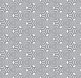 Sześciokąty, czarny i biały abstrakcjonistyczny geometryczny bezszwowy klepnięcie Ilustracja Wektor