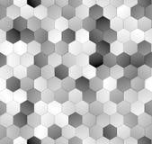 Sześciokąty deseniują bezszwową teksturę Zdjęcie Stock