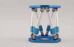 Sześcionogi robot ilustracja wektor