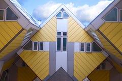 sześcianów domy Zdjęcie Royalty Free